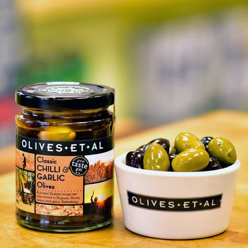 Olives Et Al Classic Chilli & Garlic Olives