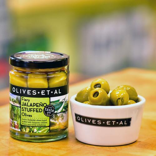 Olives Et Al Fiery Jalapeno Stuffed Olives