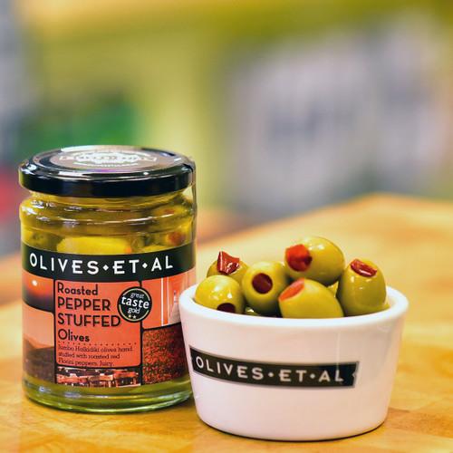 Olives Et Al Red Pepper Stuffed Olives