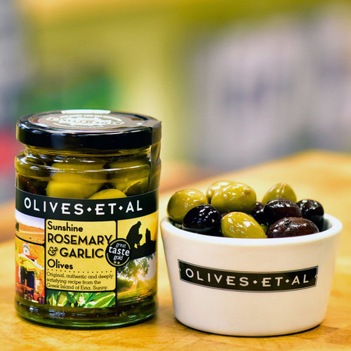 Olives Et Al Sunshine Rosemary & Garlic Olives
