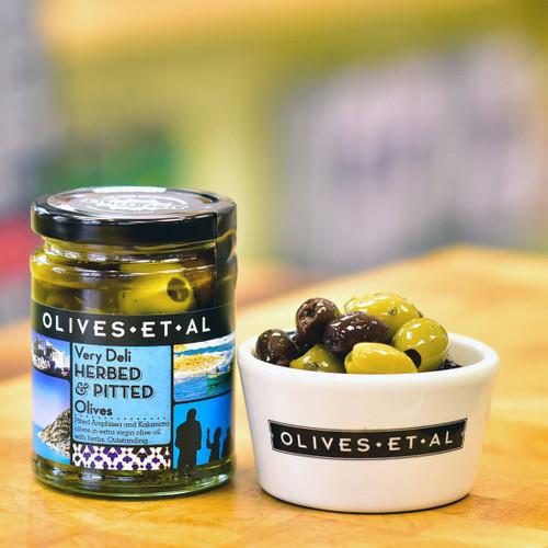 Olives Et Al Very Deli Herbed & Pitted Olives