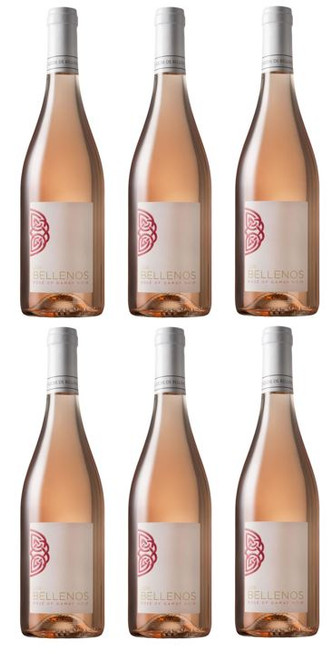 Bellenos Rose de Gamay Noir, Coteaux Bourguignons SIX x 75cl SPECIAL OFFER