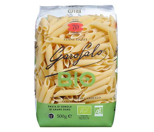 Garofalo Organic Durum Wheat Semolina Pasta Penne Rigate