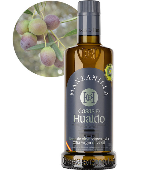 Manzanilla (Medium Strength) Extra Virgin Olive Oil by Casas De Hualdo 500ml