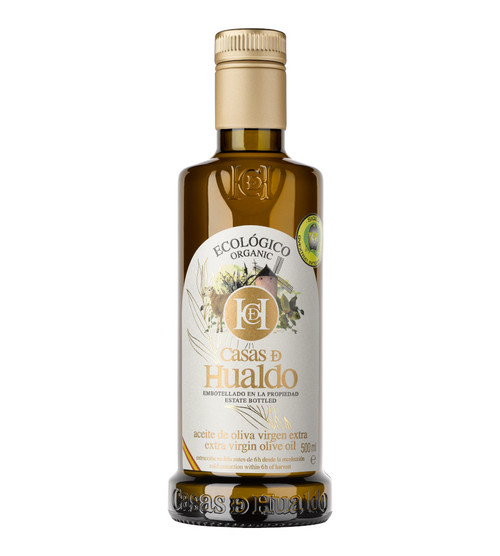 Organic Extra Virgin Olive Oil by Casas De Hualdo 500ml