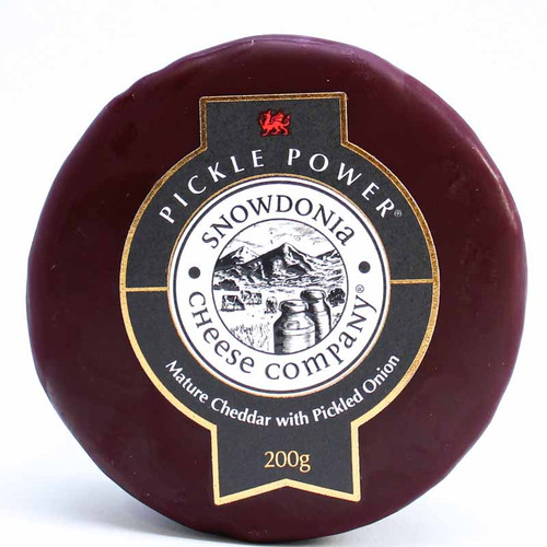 Snowdonia Pickle Power Cheddar with Pickled Onion