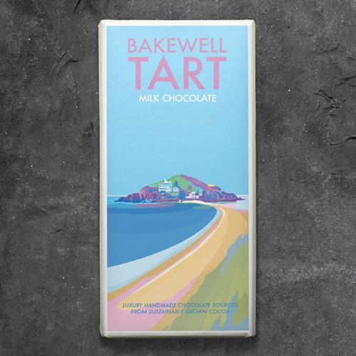 Kernow Bakewell Tart Milk Chocolate - Becky Bettesworth Range