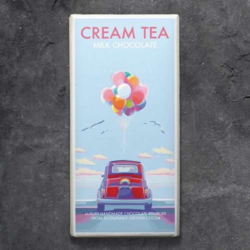 Kernow Cream Tea Milk Chocolate - Becky Bettesworth Range