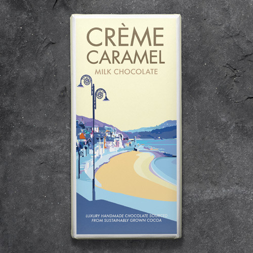 Kernow Creme Caramel Chocolate - Becky Bettesworth Range