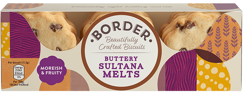 Border Buttery Sultana Melts