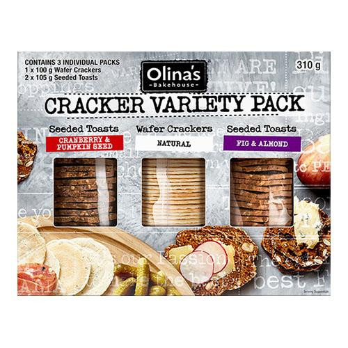 Olina's Bakehouse Crackers Variety Pack