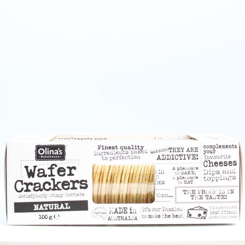 Olina's Wafer Crackers Natural