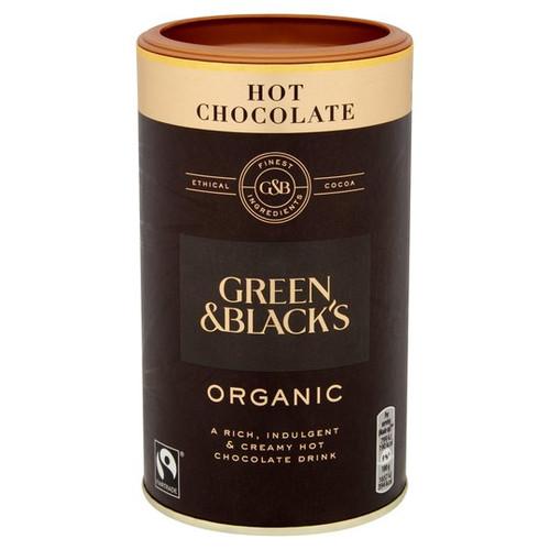 Green and Black's Organic Hot Chocolate Tub