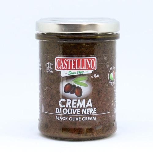 Castellino Black Olive Cream Tapenade