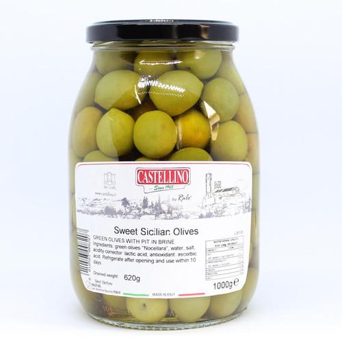Castellino Sicilian Sweet Olives 1kg