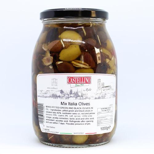 Castellino Mix Italia Olives 1kg