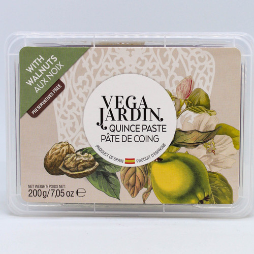 Vega Jardin Quince Paste with Walnut 200g