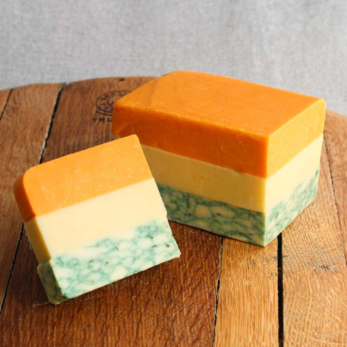 Cheese Lapis (Cheddar, Red Leicester and Sage Derby)