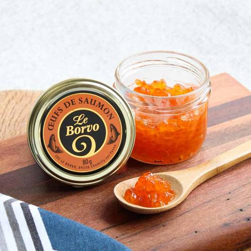 Le Borvo Premium Salmon Roe (Oeufs de Saumon)