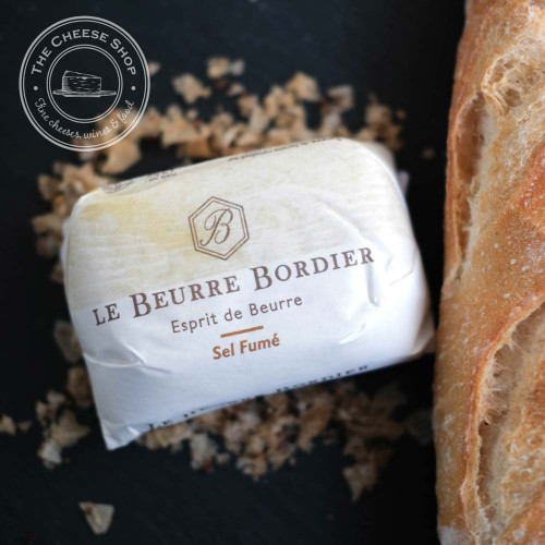 Bordier Smoked Sea Salt Sel Fumé Butter 125g