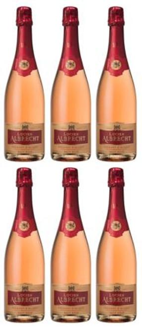 Lucien Albrecht Cremant d'Alsace Rose SIX x 75cl SPECIAL OFFER
