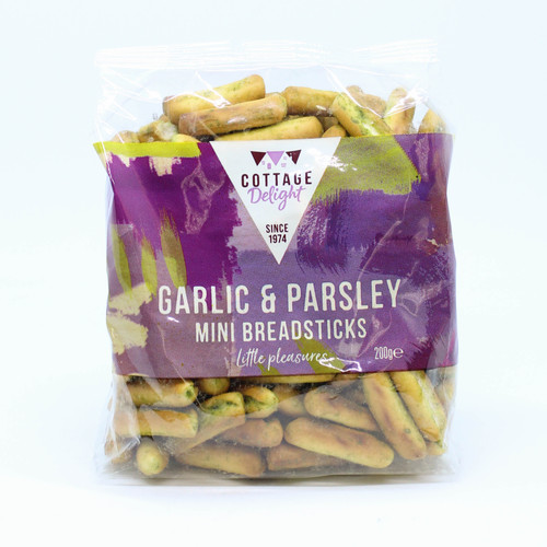 Cottage Delight Garlic and Parsley Mini Breadsticks