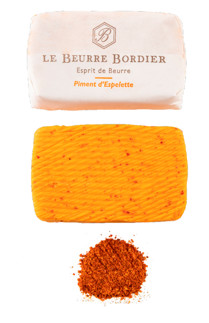 Bordier Chilli Piment d'Espelette Butter (Pre-order; available from Wed 19 May)