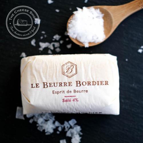 Bordier Salted Salé 4% Butter 125g