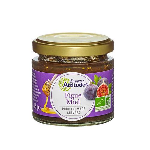 Saveurs Attitudes Fig & Honey Jam 125g