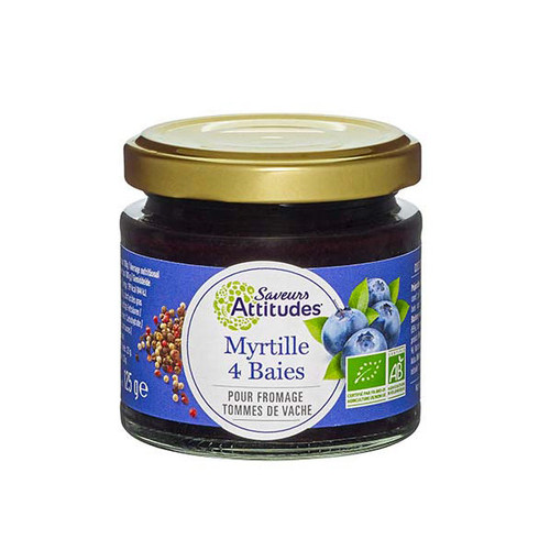 Saveurs Attitudes Blueberries with 4-Peppercorn Mix 125g