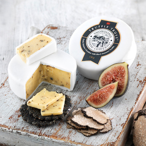 Snowdonia Truffle Trove Extra Mature Cheddar with Black Summer Truffle