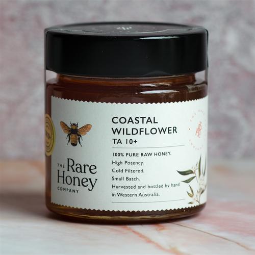 The Rare Honey Company Coastal Wildflower Honey TA 10 + (Active)