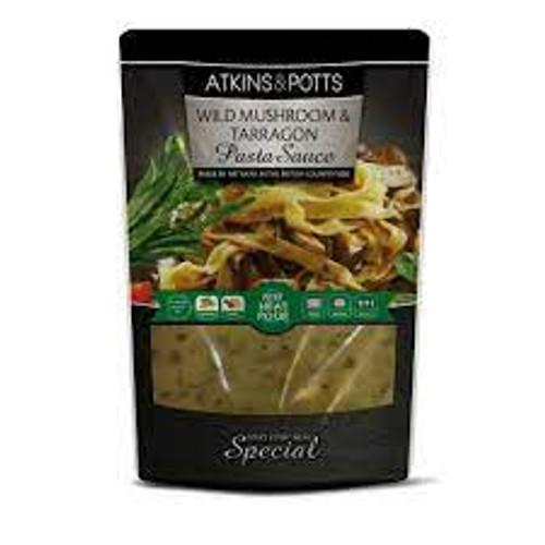 Atkins & Potts Wild Mushroom & Tarragon Pasta Sauce