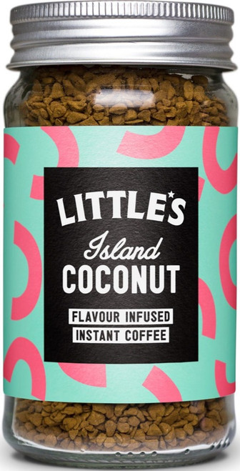 Littles Island Coconut flavour Infused Instant Coffee