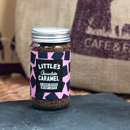 Littles Chocolate Caramel Flavour Infused Instant Coffee