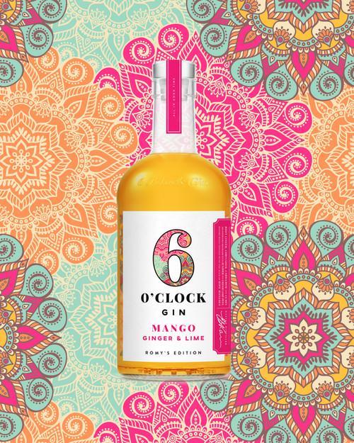 Six O' Clock Mango, Ginger and Lime Gin