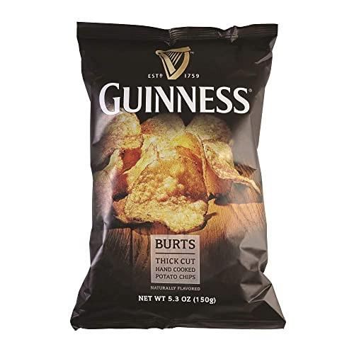 Burts Thick Cut Guinness Potato Chips