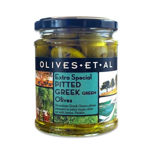 Olives Et Al Extra Special Pitted Greek Green Olives