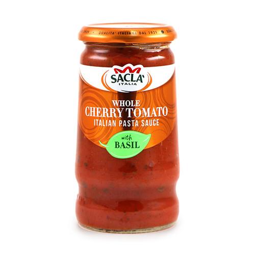 Sacla Whole Cherry Tomato with Basil Pasta Sauce 350g