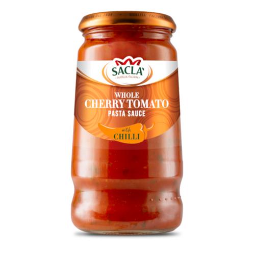 Sacla Whole Cherry Tomato with Chilli Pasta Sauce 350g