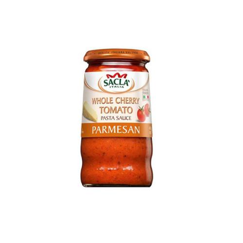 Sacla Whole Cherry Tomato with Parmesan Pasta Sauce 350g