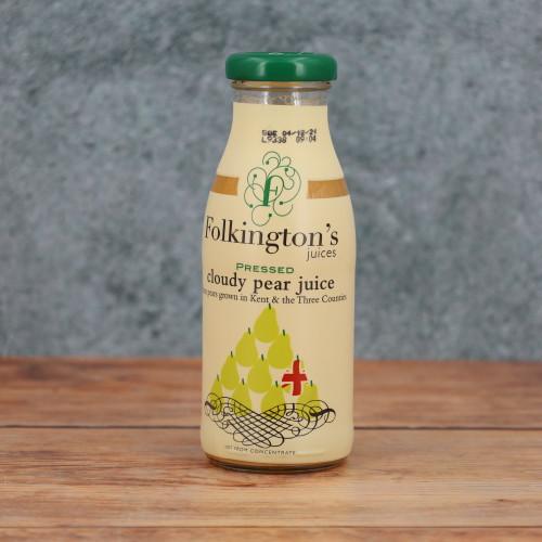 Folkingtons Pressed Cloudy Pear Juice