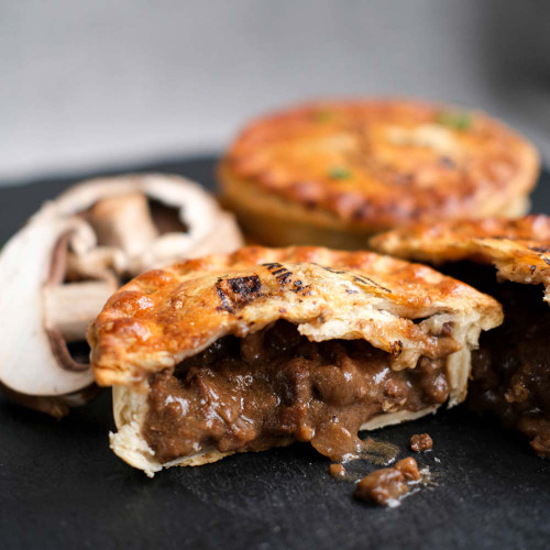 Outback Pie Co. Prime Beef and Mushroom Pie