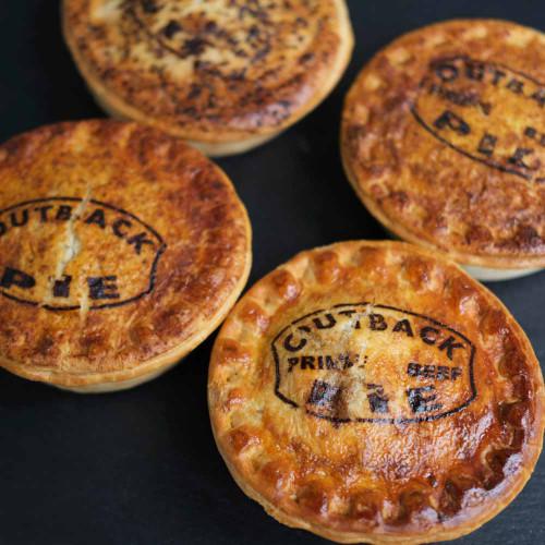 Outback Pie Co. Four Pie Bundle