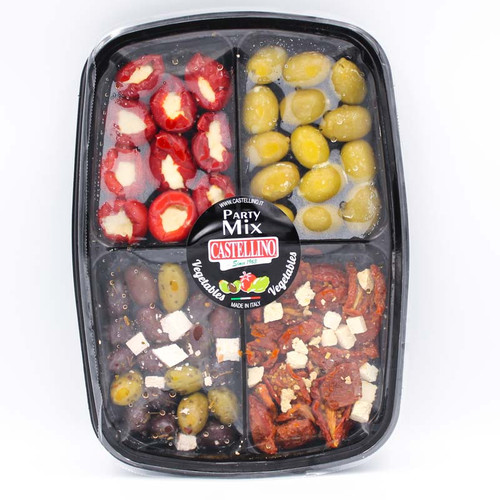 Castellino Stuffed Vegetable and Olive with Cheese Party Mix