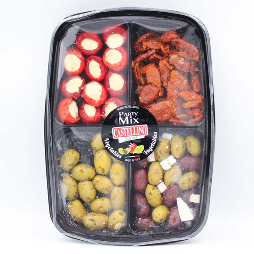 Castellino Vegetable and Olive Party Mix