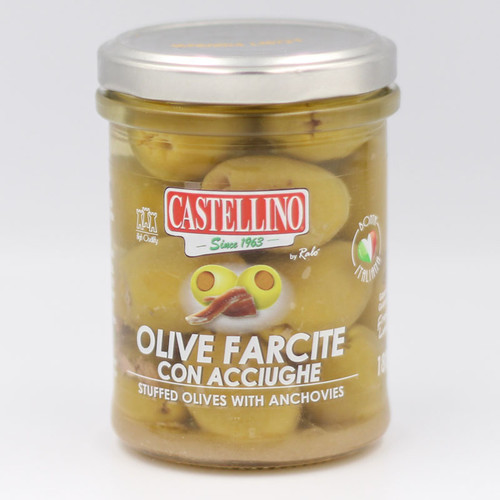 Castellino Stuffed Olives with Anchovies