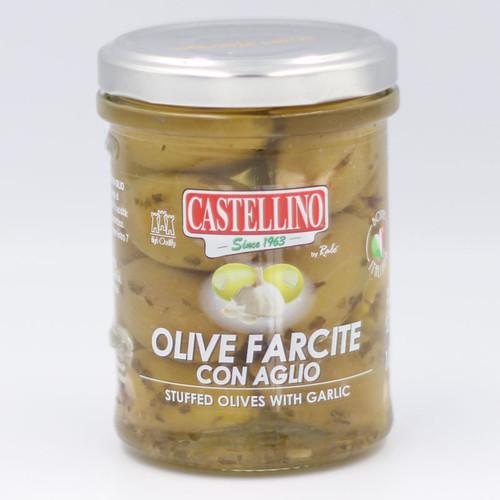 Castellino Stuffed Olives with Garlic