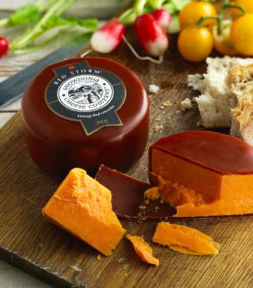 Snowdonia Red Storm Vintage Red Leicester