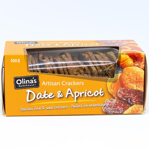 Olina's Seeded Toast Date & Apricot